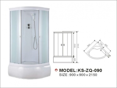 Душевая кабина KINGSAN GS-8890 Matt glass